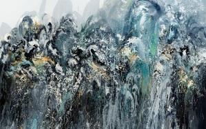 MAGGI HAMBLING: WALLS OF WATER ... .. .....Wall of water V Maggi Hambling 2011 Maggi Hambling, photograph by Douglas Atfield Maggi Hambling X8806.pr.jpg