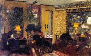 Edouard-Vuillard-Interior-The-Salon-with-Three-Lamps-Rue-Saint-Florentin-1903