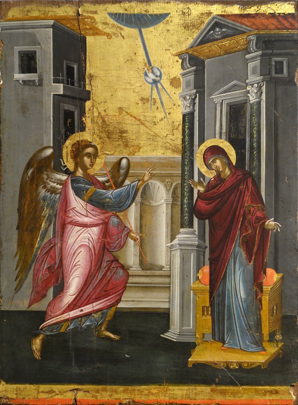 annunciation byzantine - Tzanfournaris_Emmanuel