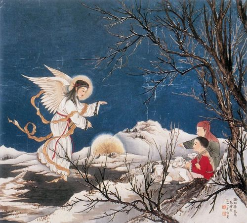 annunciation chinese