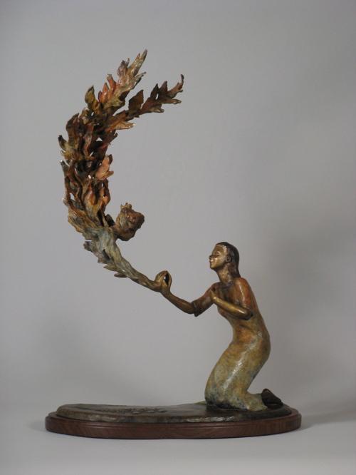 annunciation sculpture