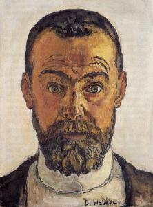 ferdinand hodler self portrait 1912