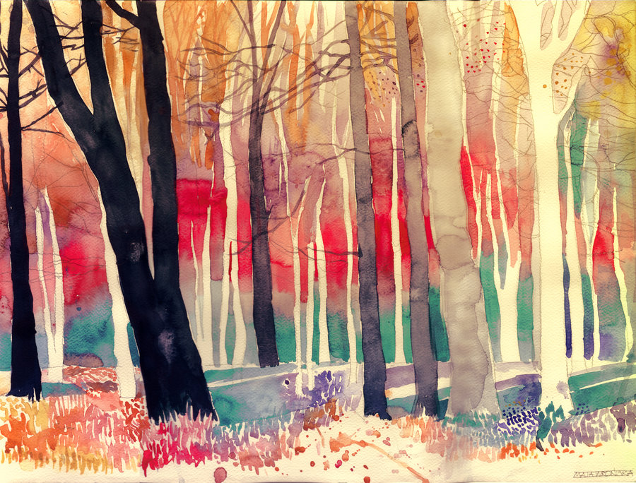 maja wronska - woods