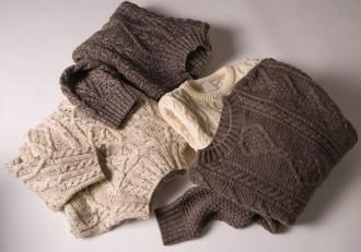 aran sweater WRB