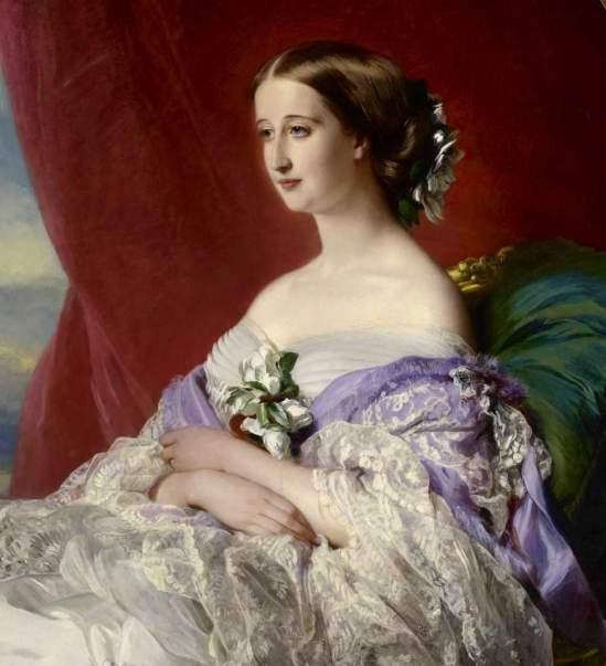 winterhalter_empress eugenie 1854