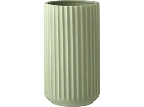 lyngby-vase-mat-groen-20-cm