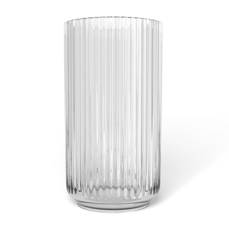 lyngby_porcel_n_vase_klar_glas
