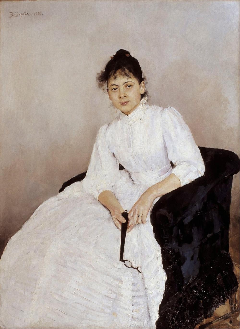 Valentin_Alexandrovich_Serov_-_Portrait_of_Maria_F__Jakuntjikova_-_Google_Art_Project