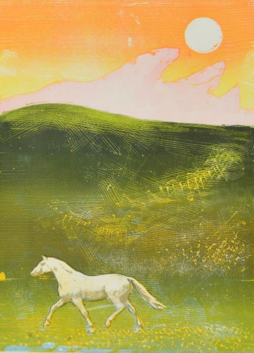 horse and sunrise (the saleroom).jpg