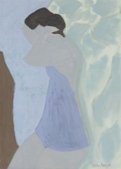 milton avery bather (pinterest)