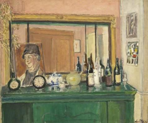 Du Plessis, Enslin; Green Mantlepiece; Royal West of England Academy; http://www.artuk.org/artworks/green-mantlepiece-185459