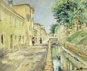 Du Plessis, Enslin, 1894-1978; Via del Fossa, Lucca, Italy
