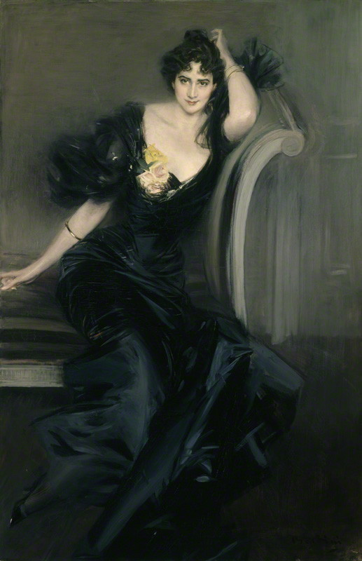 NPG 1630; Gertrude Elizabeth (nÈe Blood), Lady Colin Campbell by Giovanni Boldini