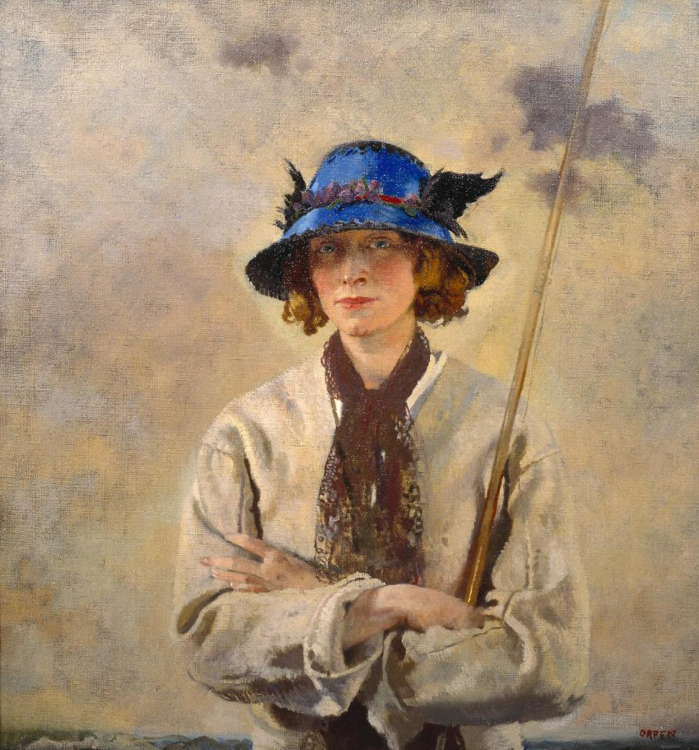 The Angler c.1912 by Sir William Orpen 1878-1931
